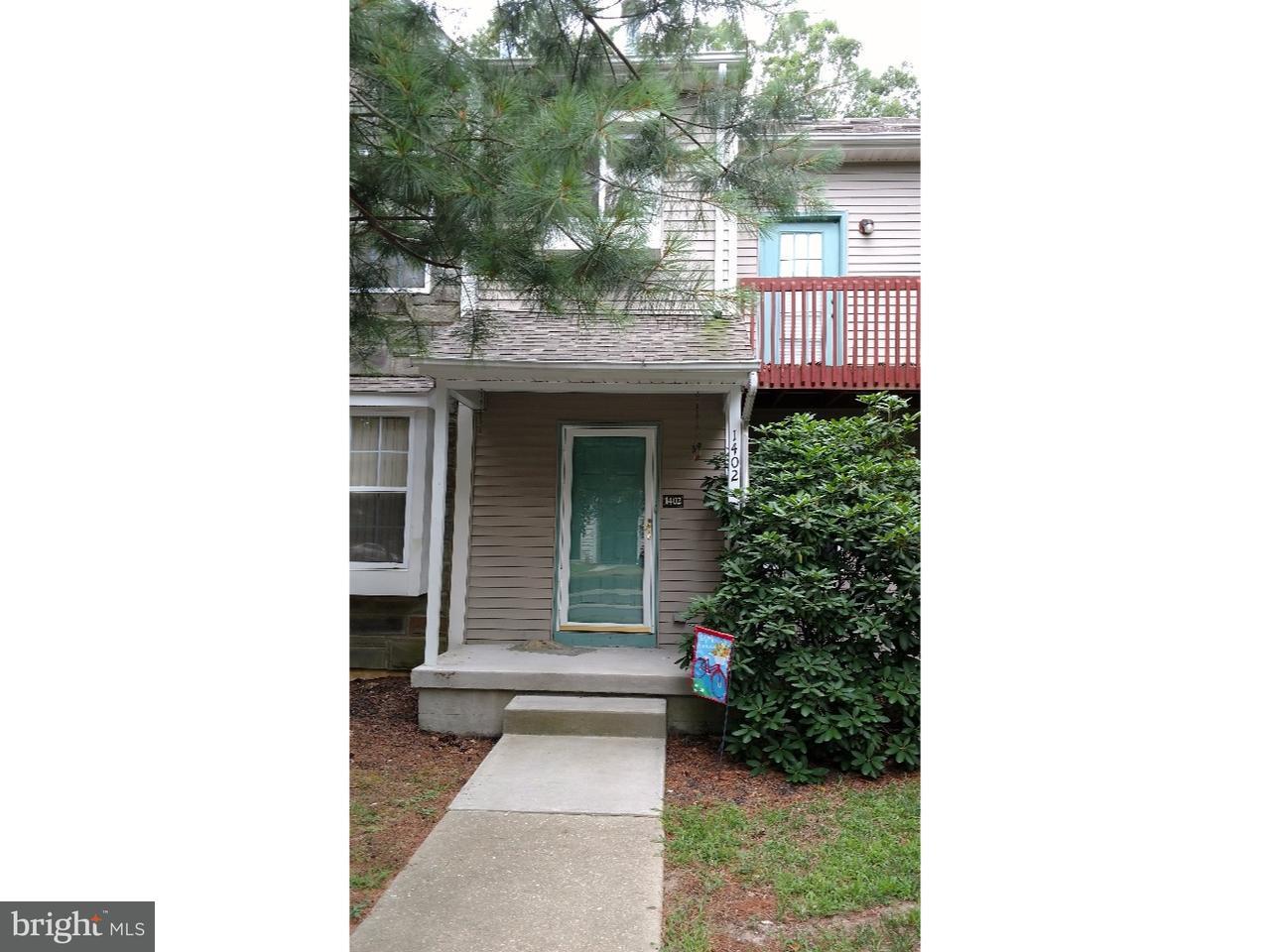 Appartement en copropriété pour l à louer à 1402 TRISTRAM Circle Mantua, New Jersey 08051 États-Unis
