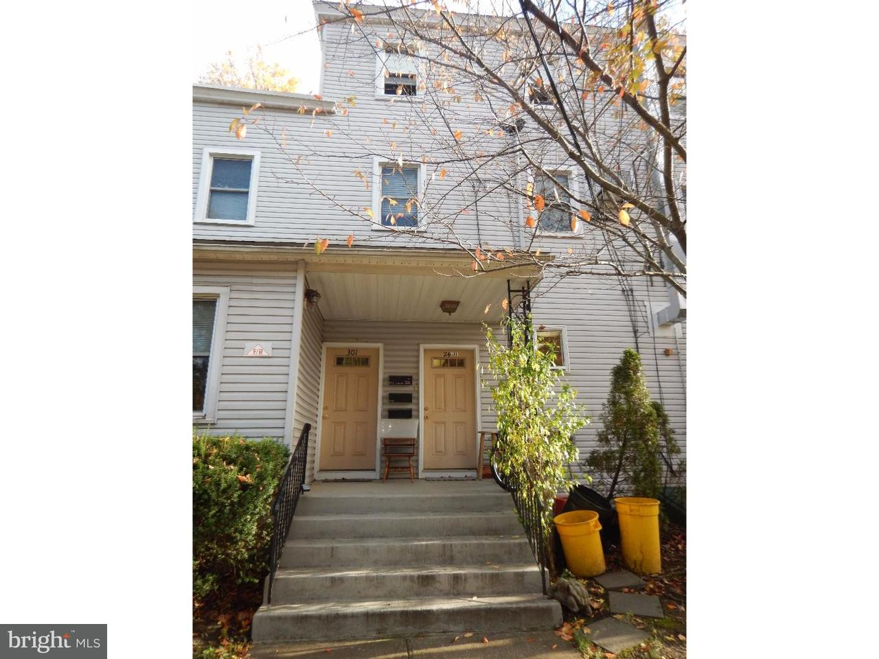 Townhouse for Rent at 301 E ATLANTIC AVE #1ST FL Audubon, New Jersey 08106 United States