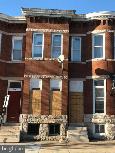 Single Family for Sale at 1918 Lanvale St Baltimore, Maryland 21217 United States