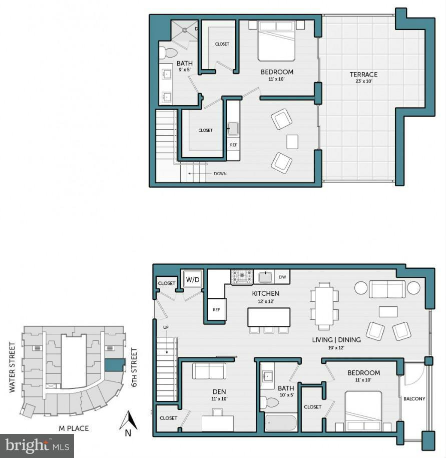 Additional photo for property listing at 525 WATER ST SW #424 525 WATER ST SW #424 Washington, コロンビア特別区 20024 アメリカ合衆国