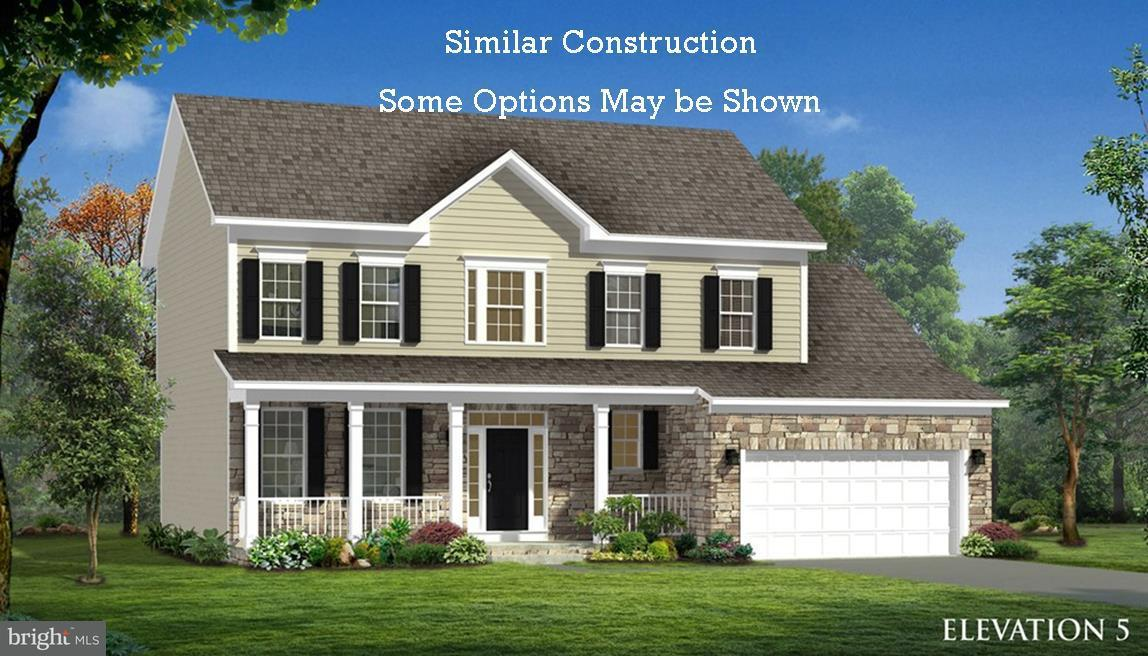 Single Family for Sale at 0 Five Forks Dr #nottingham Ii Plan Harpers Ferry, West Virginia 25425 United States