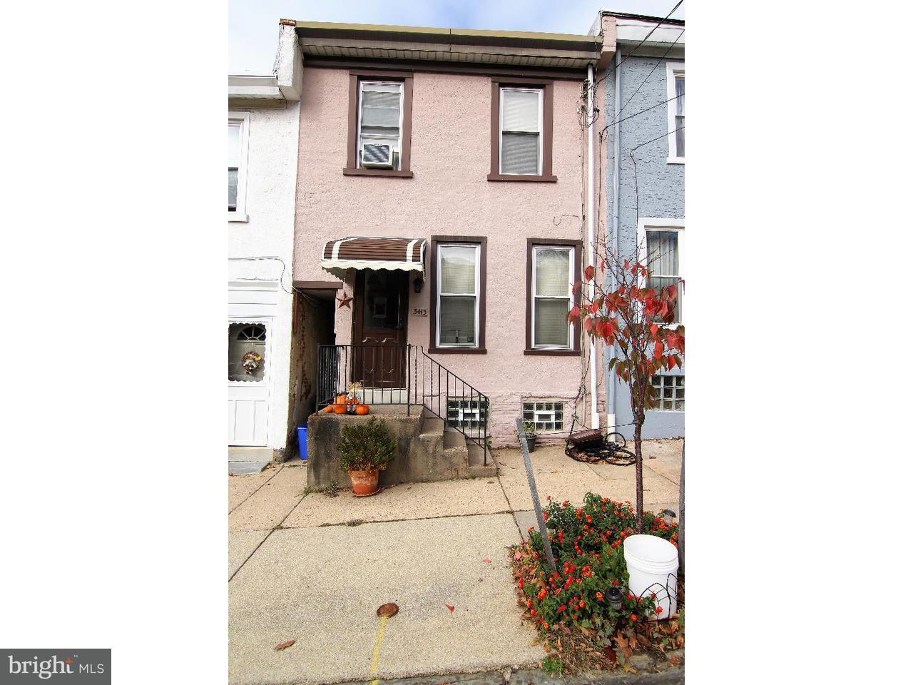 Casa unifamiliar adosada (Townhouse) por un Venta en 3415 CRAWFORD Street Philadelphia, Pennsylvania 19129 Estados Unidos