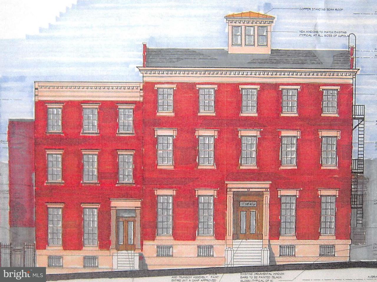 Huis voor meerdere gezinnen voor Verkoop een t 1214 EUTAW Place 1214 EUTAW Place Baltimore, Maryland 21217 Verenigde Staten
