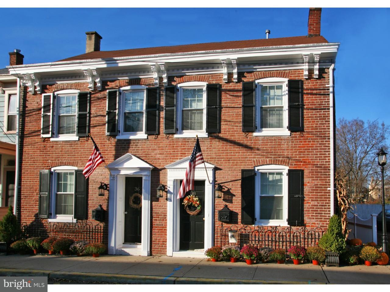 Townhouse for Sale at 38 SWAN Street Lambertville, New Jersey 08530 United StatesMunicipality: Lambertville