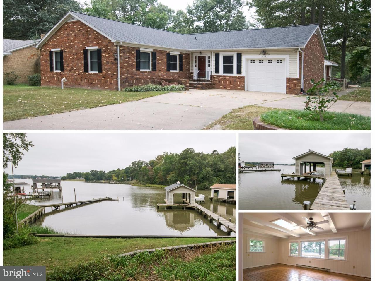 Single Family Home for Sale at 134 SEBASTIAN Avenue 134 SEBASTIAN Avenue Colonial Beach, Virginia 22443 United States