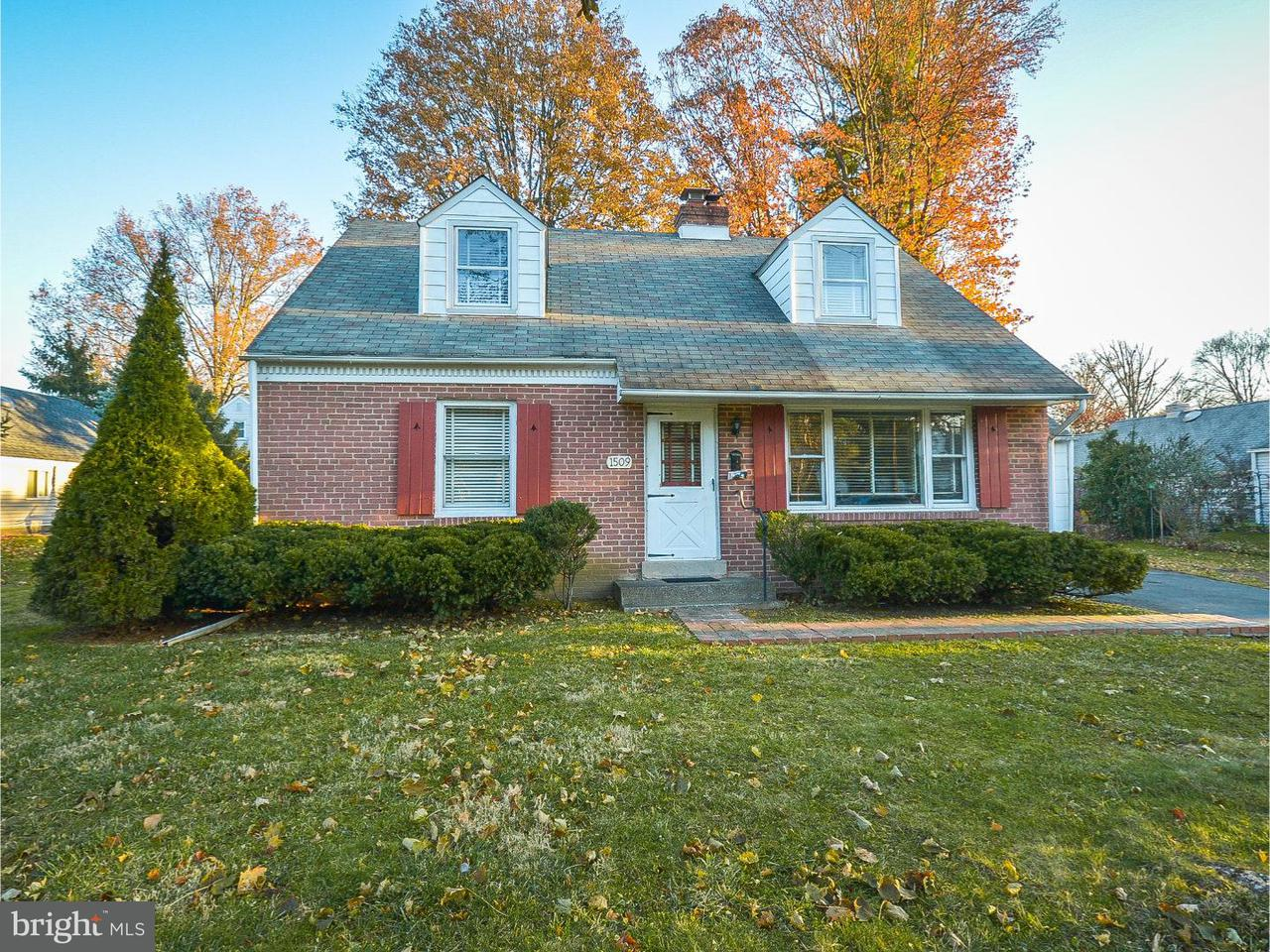 Single Family Home for Rent at 1509 CHURCH Road Oreland, Pennsylvania 19075 United States