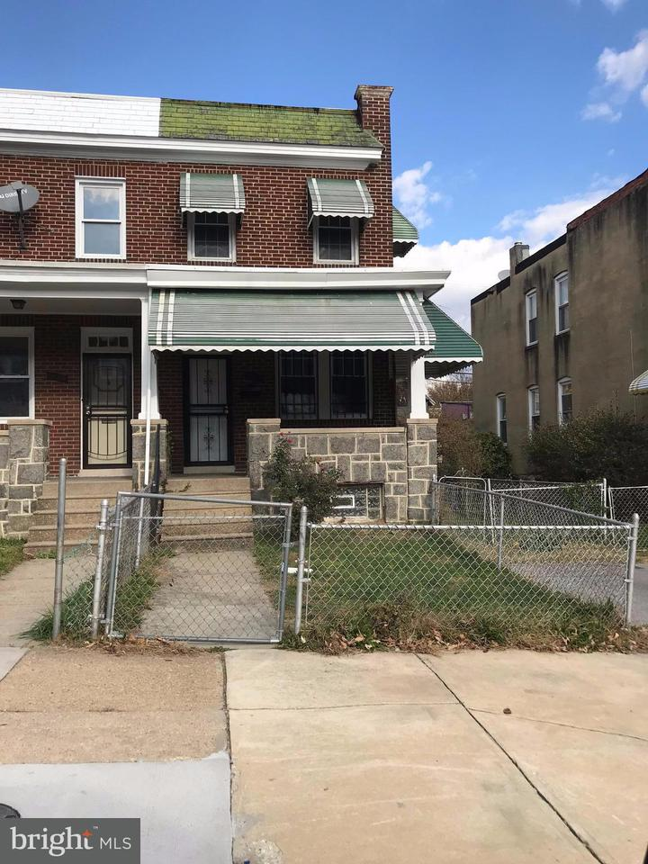 Single Family for Sale at 1610 Homestead St Baltimore, Maryland 21218 United States