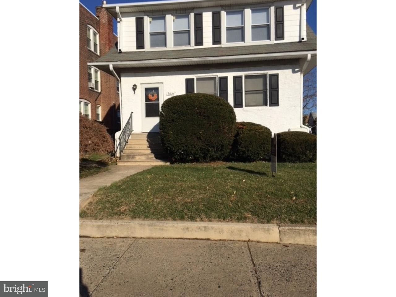 Single Family Home for Rent at 2025 E DARBY RD #2ND FL Havertown, Pennsylvania 19083 United States