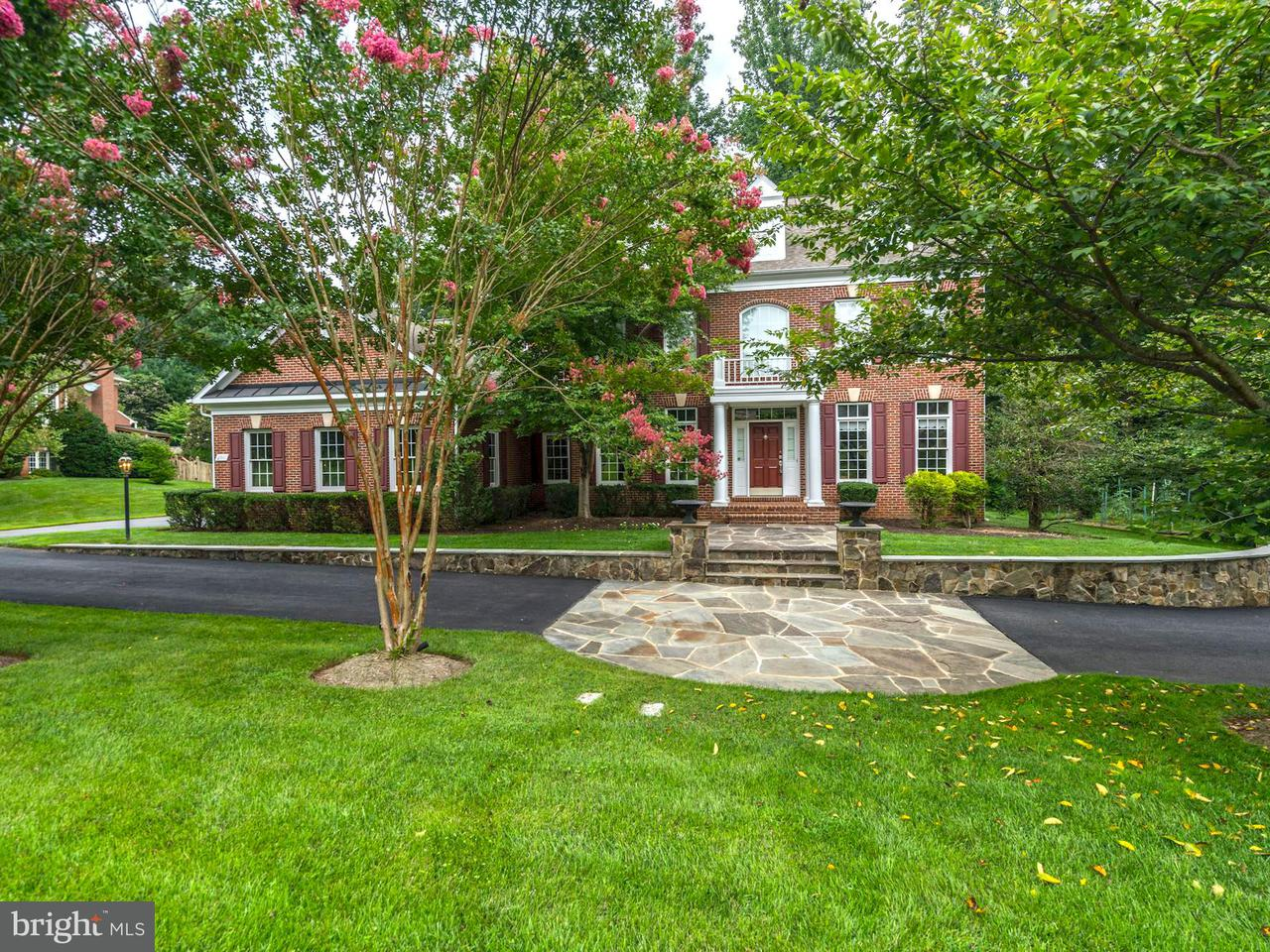 Single Family Home for Sale at 2911 FOX MILL MANOR Drive 2911 FOX MILL MANOR Drive Oakton, Virginia 22124 United States