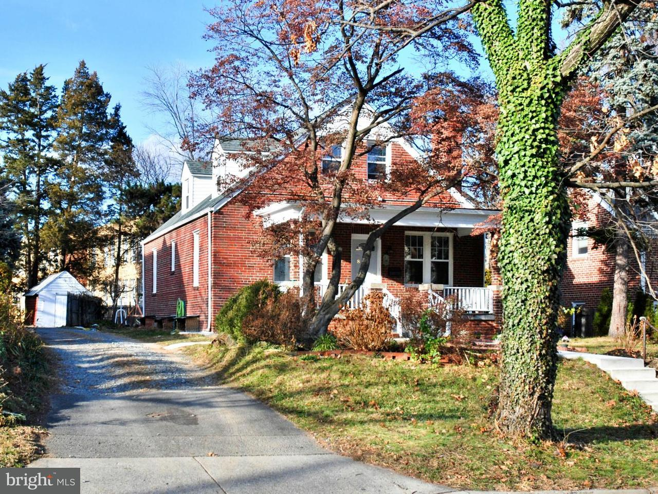 Single Family Home for Sale at 821 BONIFANT Street 821 BONIFANT Street Silver Spring, Maryland 20910 United States
