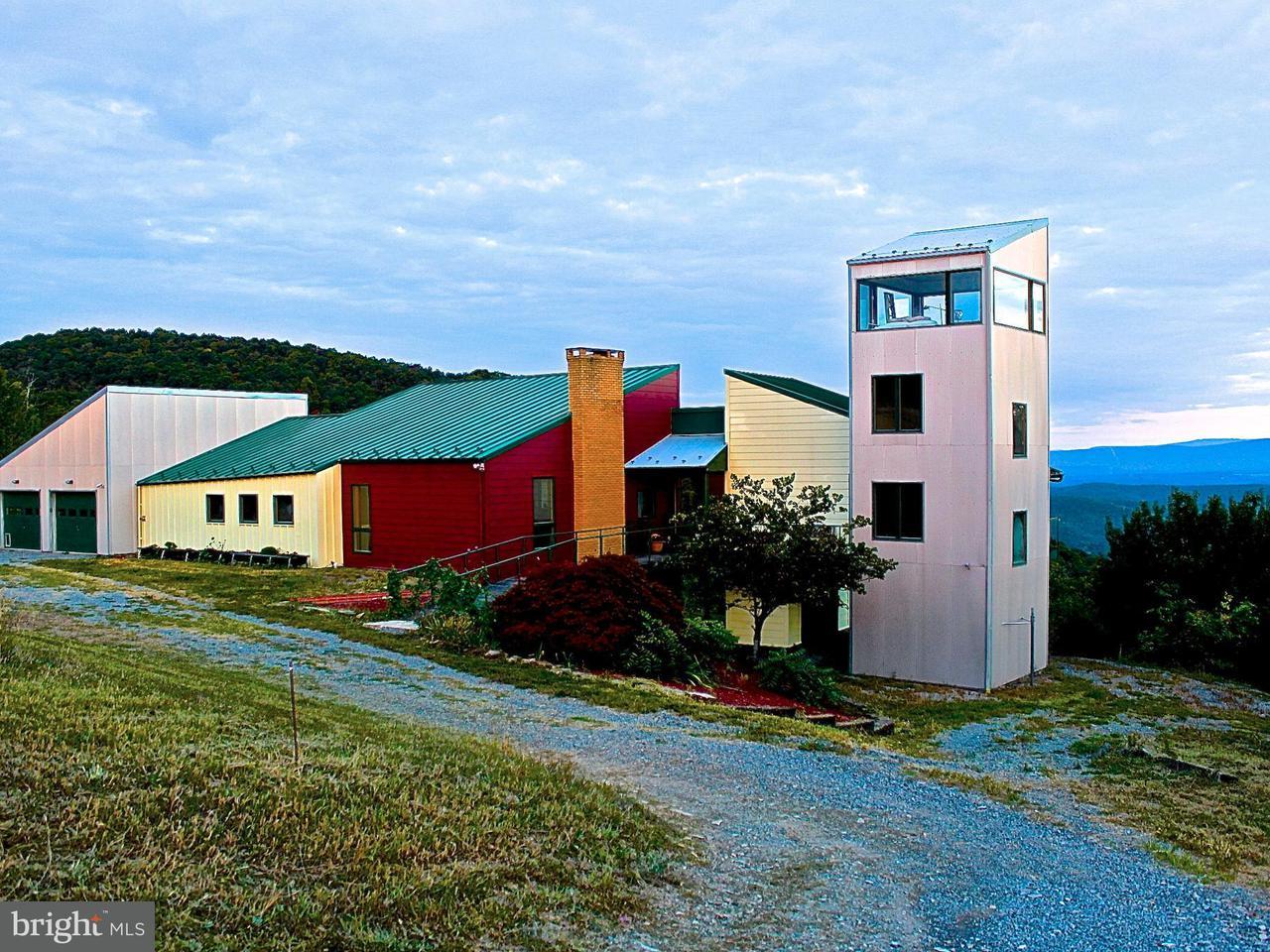 Granja por un Venta en 951 CAMERON ORCHARD Road 951 CAMERON ORCHARD Road New Creek, West Virginia 26743 Estados Unidos