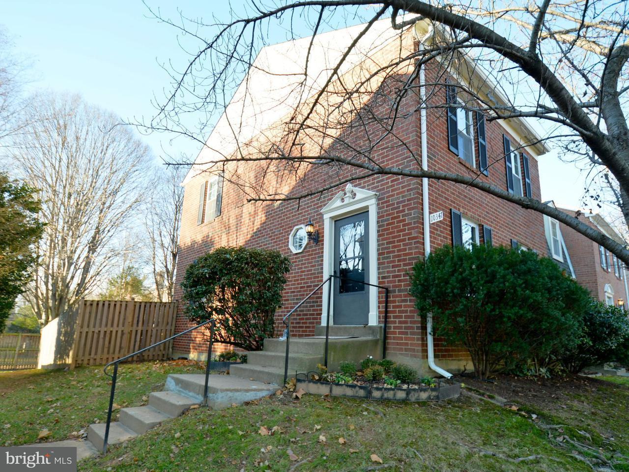 Townhouse for Sale at 10347 GRANITE CREEK Lane 10347 GRANITE CREEK Lane Oakton, Virginia 22124 United States