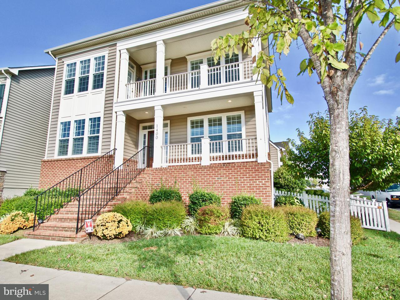 Maison unifamiliale pour l Vente à 1400 VOLUNTEER Drive 1400 VOLUNTEER Drive Brunswick, Maryland 21716 États-Unis
