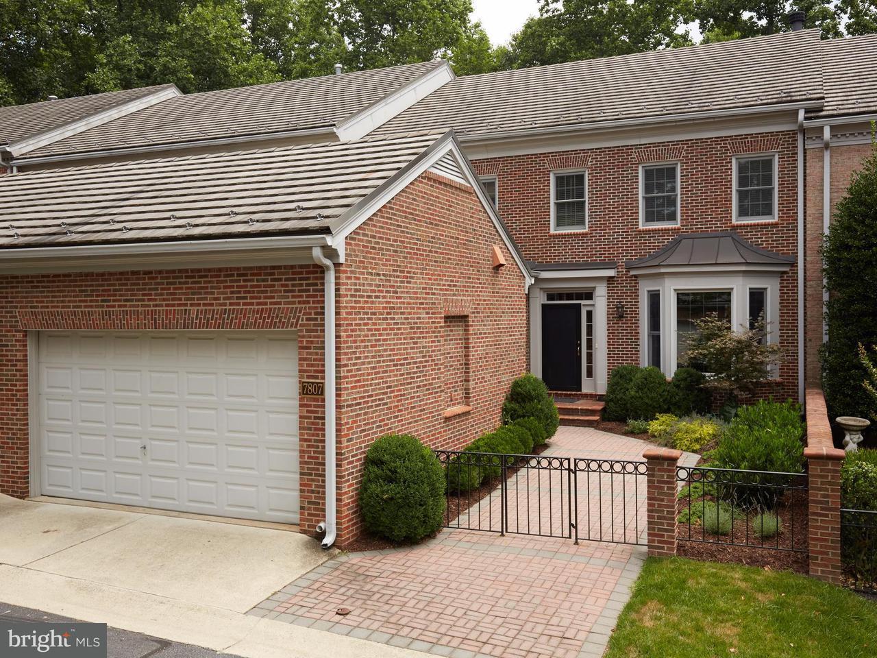 Stadthaus für Verkauf beim 7807 GATE POST WAY 7807 GATE POST WAY Potomac, Maryland 20854 Vereinigte Staaten