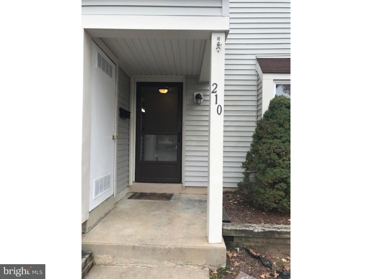 Townhouse for Rent at 210 DEERPARK Court Evesham Twp, New Jersey 08053 United States