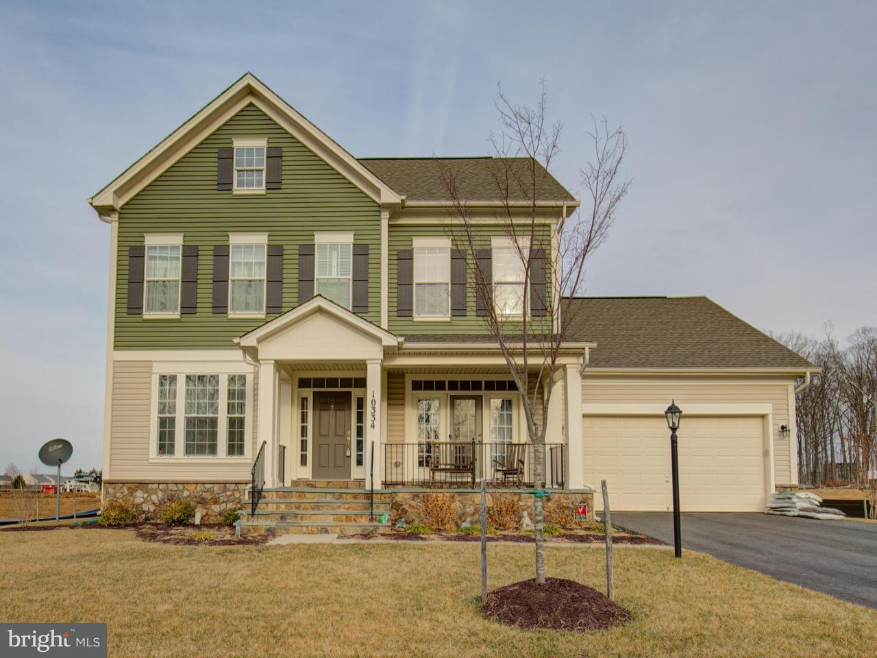 Single Family Home for Sale at 10334 Spring Iris Drive 10334 Spring Iris Drive Bristow, Virginia 20136 United States