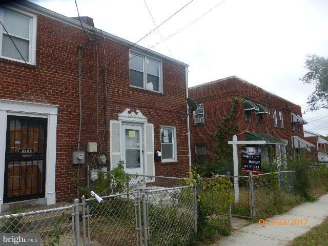 Single Family for Sale at 3466 23rd St SE Washington, District Of Columbia 20020 United States