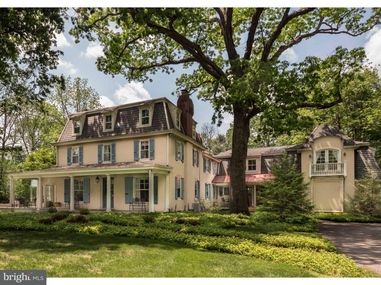 Casa Unifamiliar por un Venta en 525 PENLLYN PIKE Blue Bell, Pennsylvania 19422 Estados Unidos