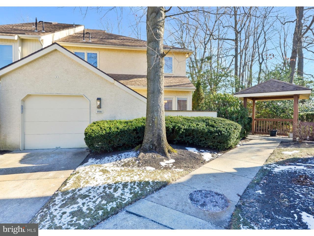 联栋屋 为 出租 在 1705 CHANTICLEER Cherry Hill, 新泽西州 08003 美国