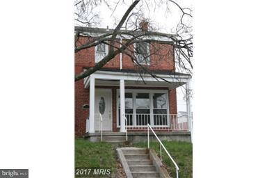 Single Family for Sale at 1226 Glenwood Ave Baltimore, Maryland 21239 United States