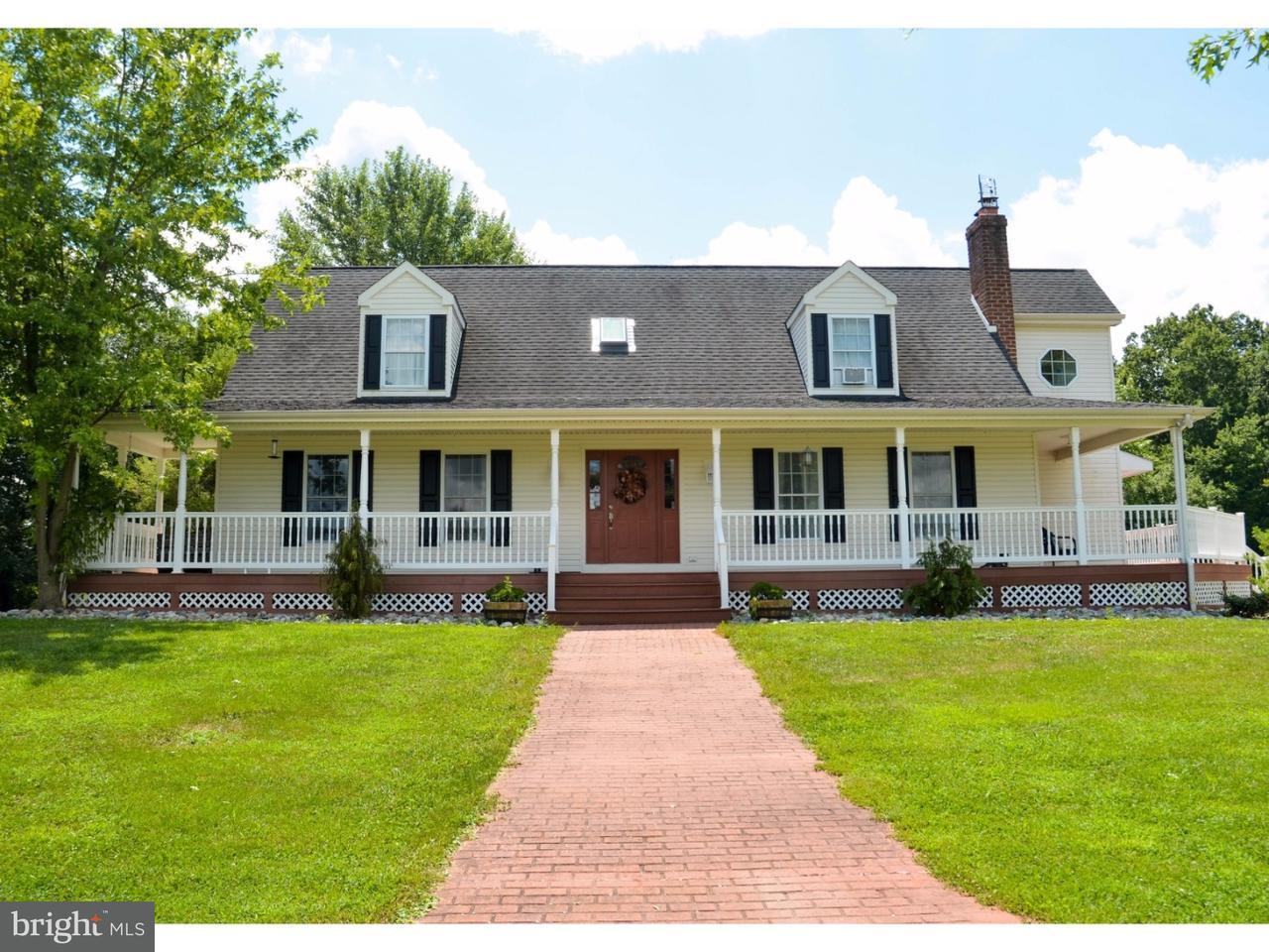 Maison unifamiliale pour l Vente à 255 WELCHVILLE Road Woodstown, New Jersey 08098 États-Unis