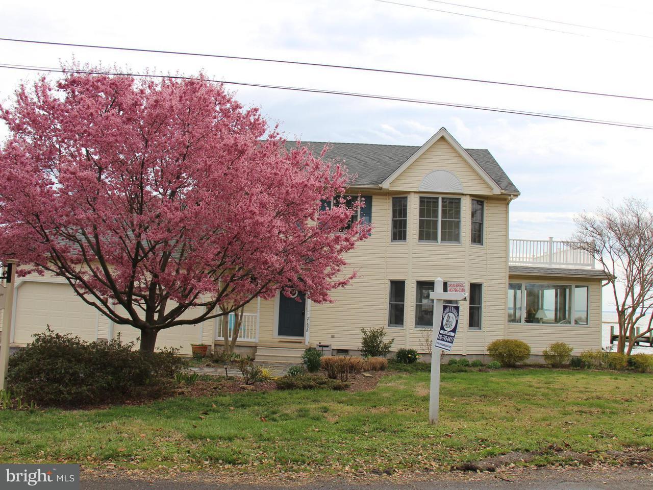 獨棟家庭住宅 為 出售 在 21688 Camper Circle 21688 Camper Circle Tilghman, 馬里蘭州 21671 美國