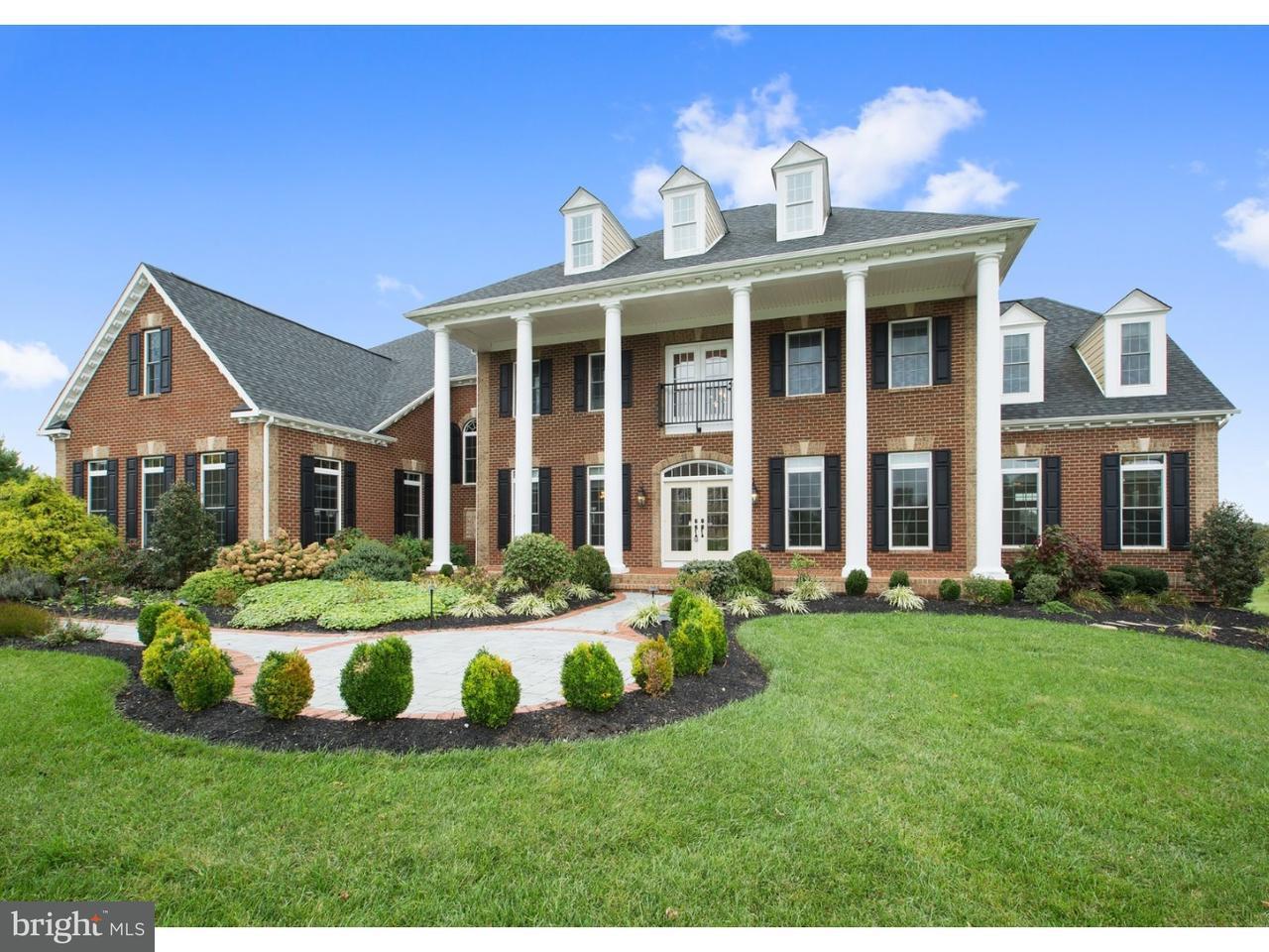 Частный односемейный дом для того Продажа на 110 HIDDEN POND Drive Chadds Ford, Пенсильвания 19317 Соединенные Штаты
