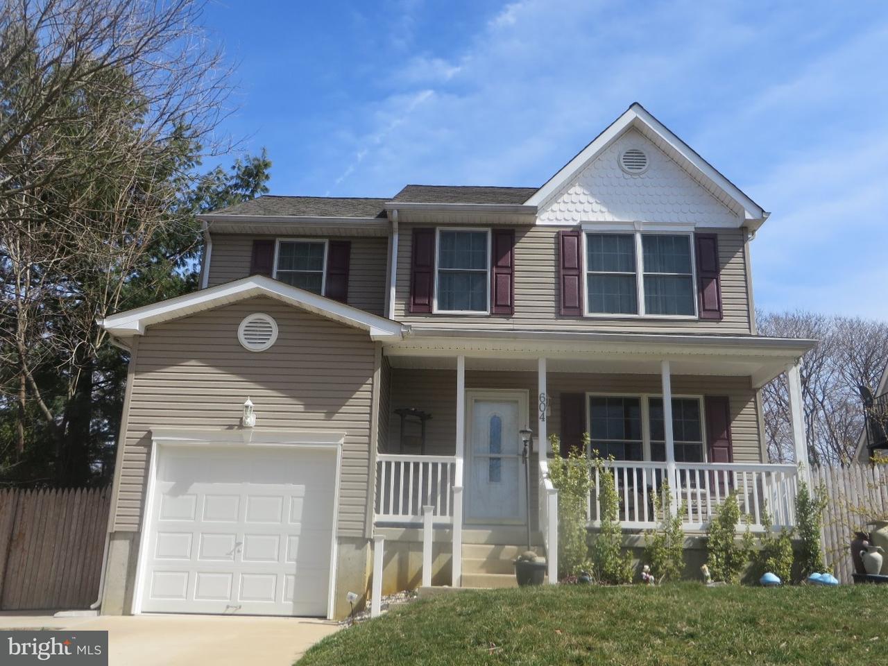 Частный односемейный дом для того Продажа на 604 CHESTNUT Street Glendora, Нью-Джерси 08029 Соединенные Штаты