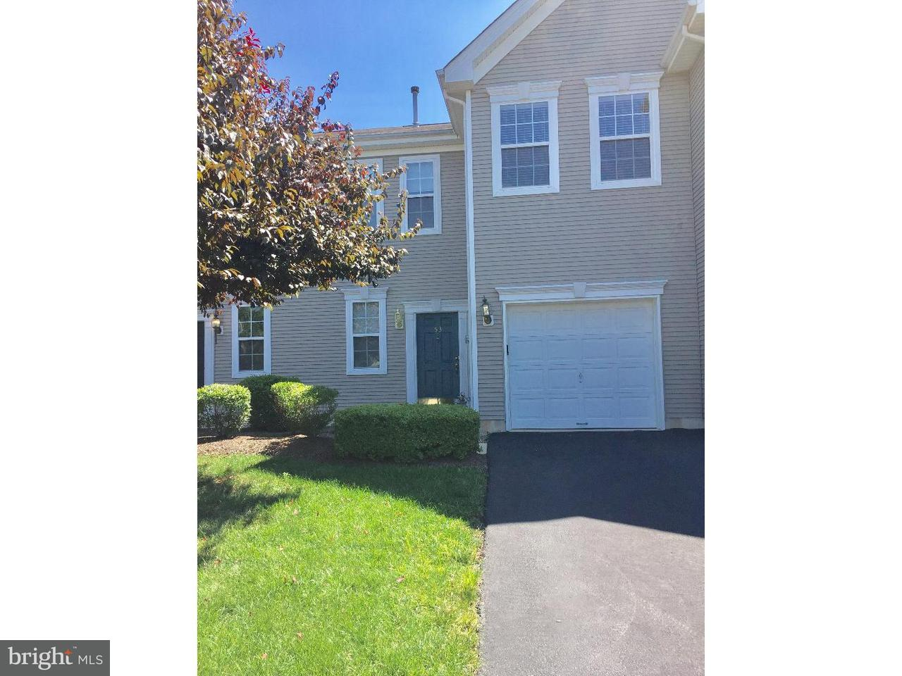 Townhouse for Rent at 53 YORK Road Princeton Junction, New Jersey 08550 United StatesMunicipality: West Windsor Twp