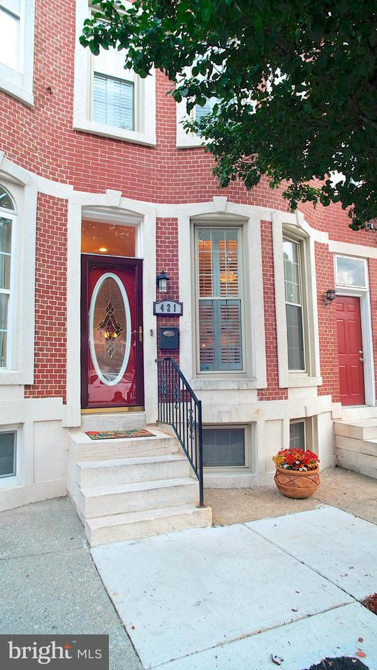 Single Family for Sale at 421 Luzerne Ave Baltimore, Maryland 21224 United States