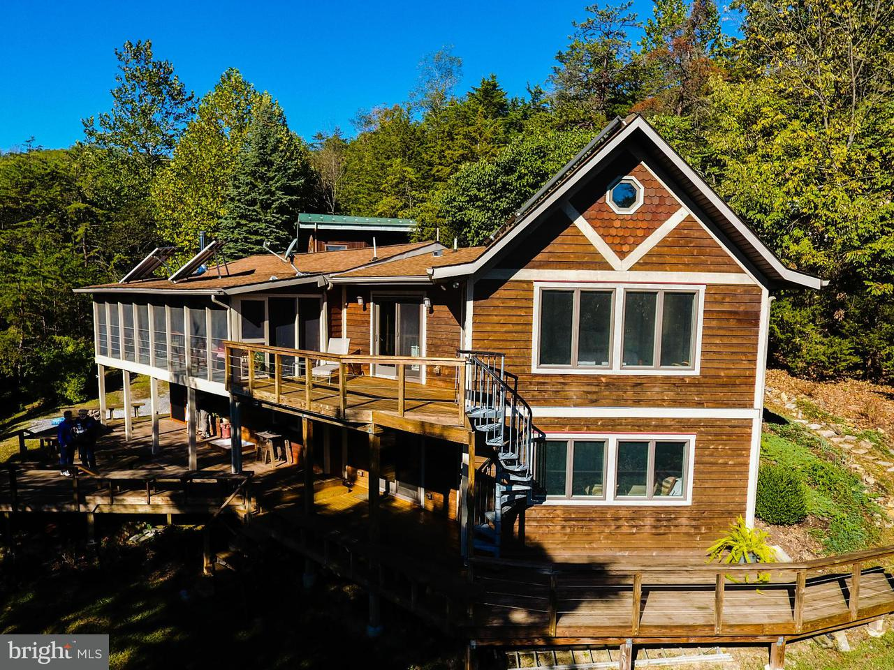 Single Family for Sale at 1250 Whispering Pines Way Lost River, West Virginia 26810 United States