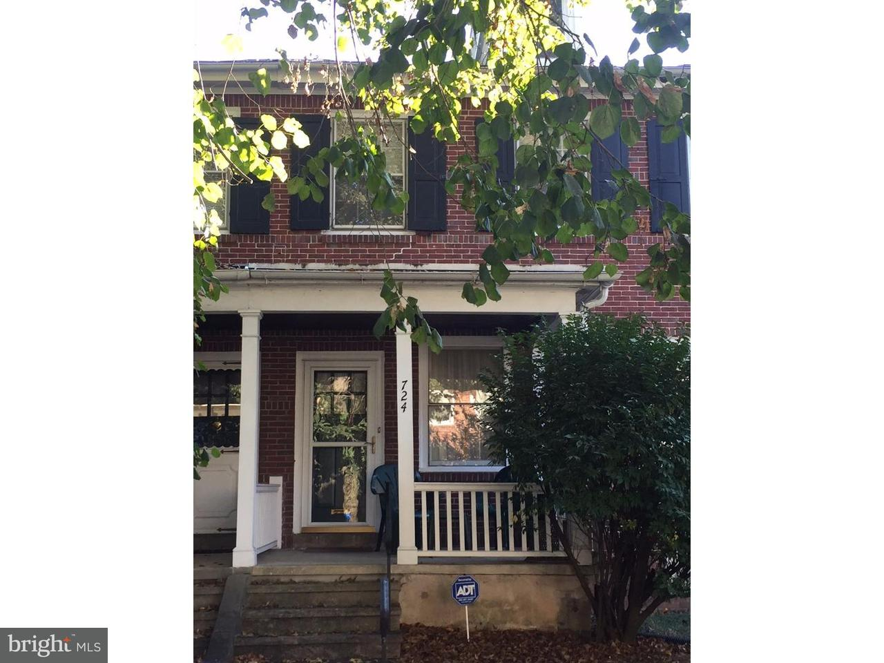 Maison accolée pour l Vente à 724 WAYNE Avenue West Reading, Pennsylvanie 19611 États-Unis