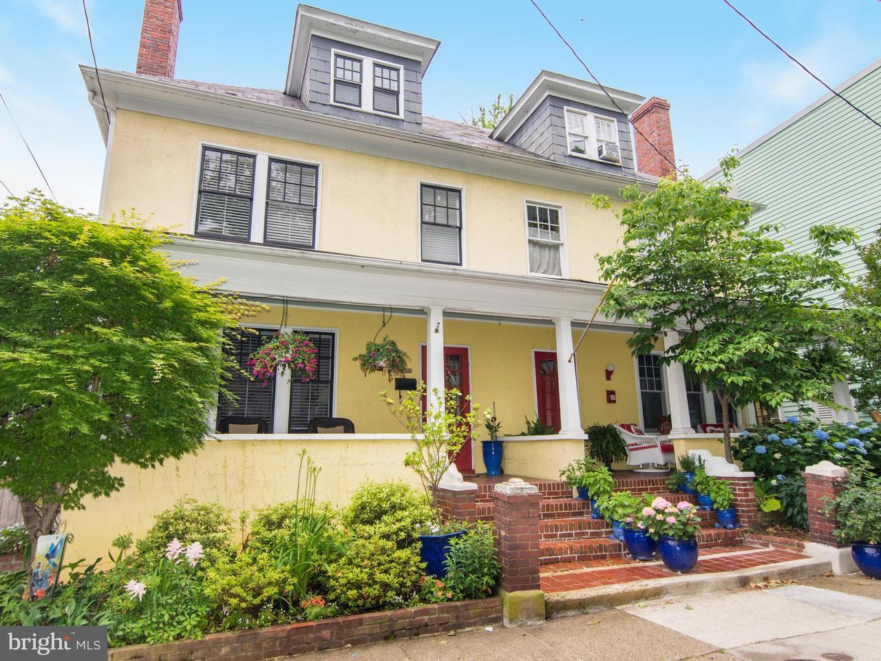 Dúplex por un Venta en 145 Prince George Street 145 Prince George Street Annapolis, Maryland 21401 Estados Unidos