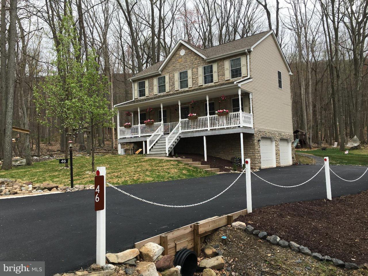 Частный односемейный дом для того Продажа на 46 E TUSCARORA Drive Hazle Township, Пенсильвания 18202 Соединенные Штаты
