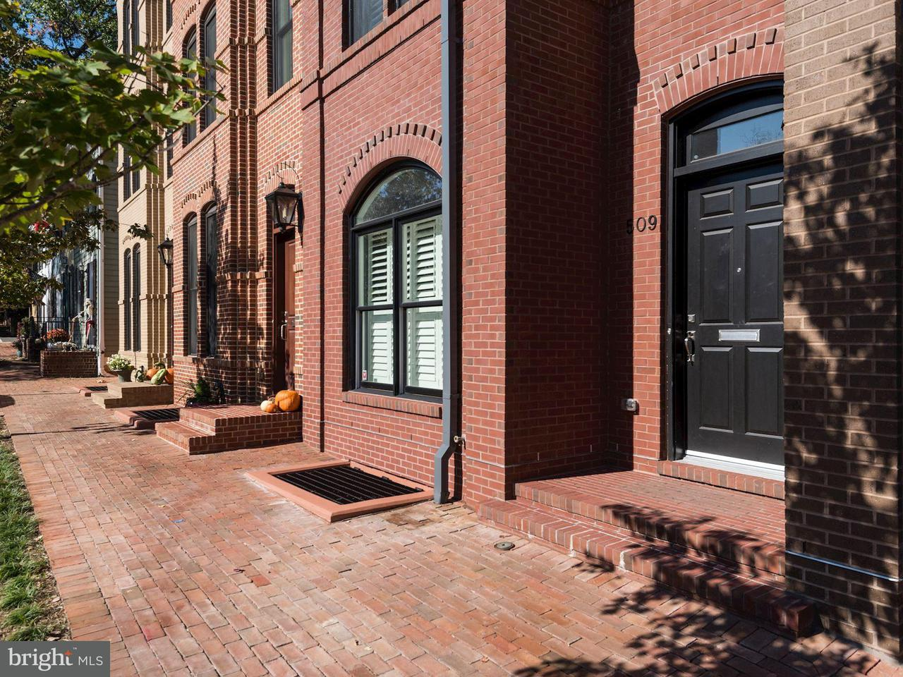 Townhouse for Sale at 509 ORONOCO Street 509 ORONOCO Street Alexandria, Virginia 22314 United States