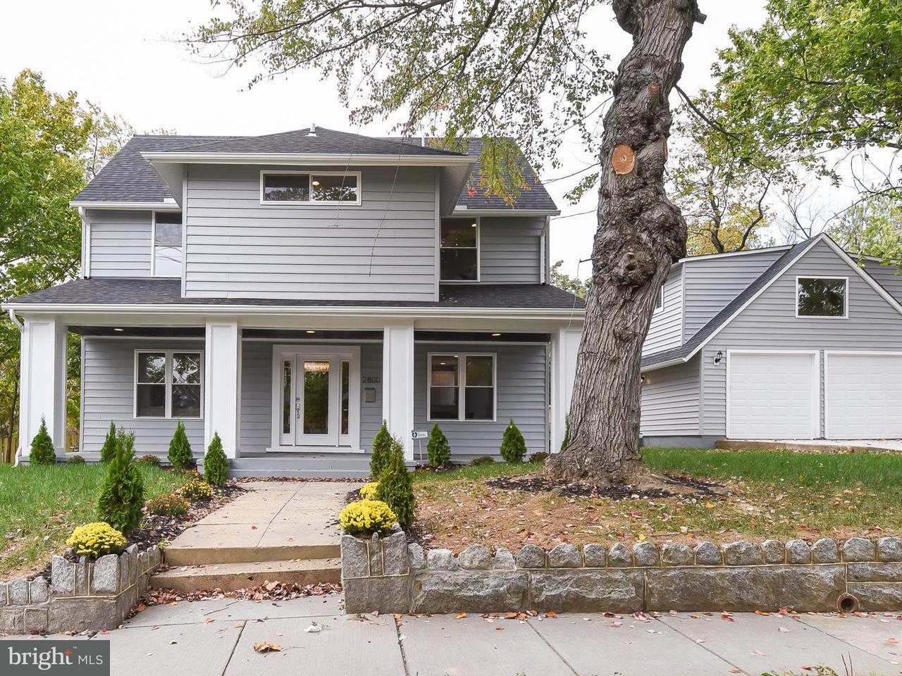 独户住宅 为 销售 在 2800 13TH ST NE 2800 13TH ST NE 华盛顿市, 哥伦比亚特区 20017 美国