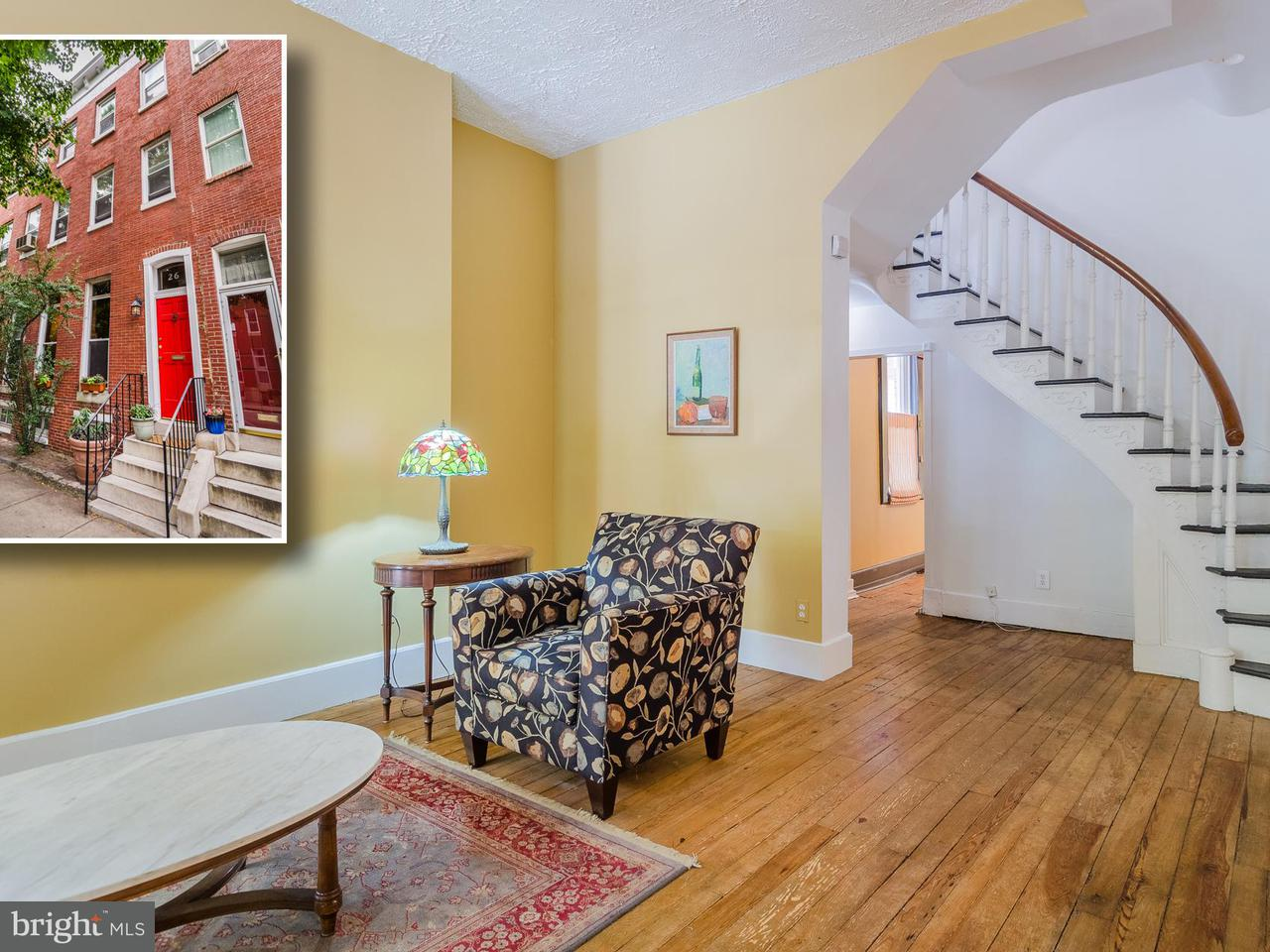 Single Family for Sale at 26 Chester St N Baltimore, Maryland 21231 United States