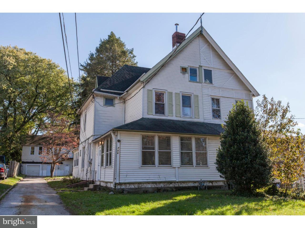 Maison accolée pour l Vente à 706 REDWOOD Avenue Yeadon, Pennsylvanie 19050 États-Unis