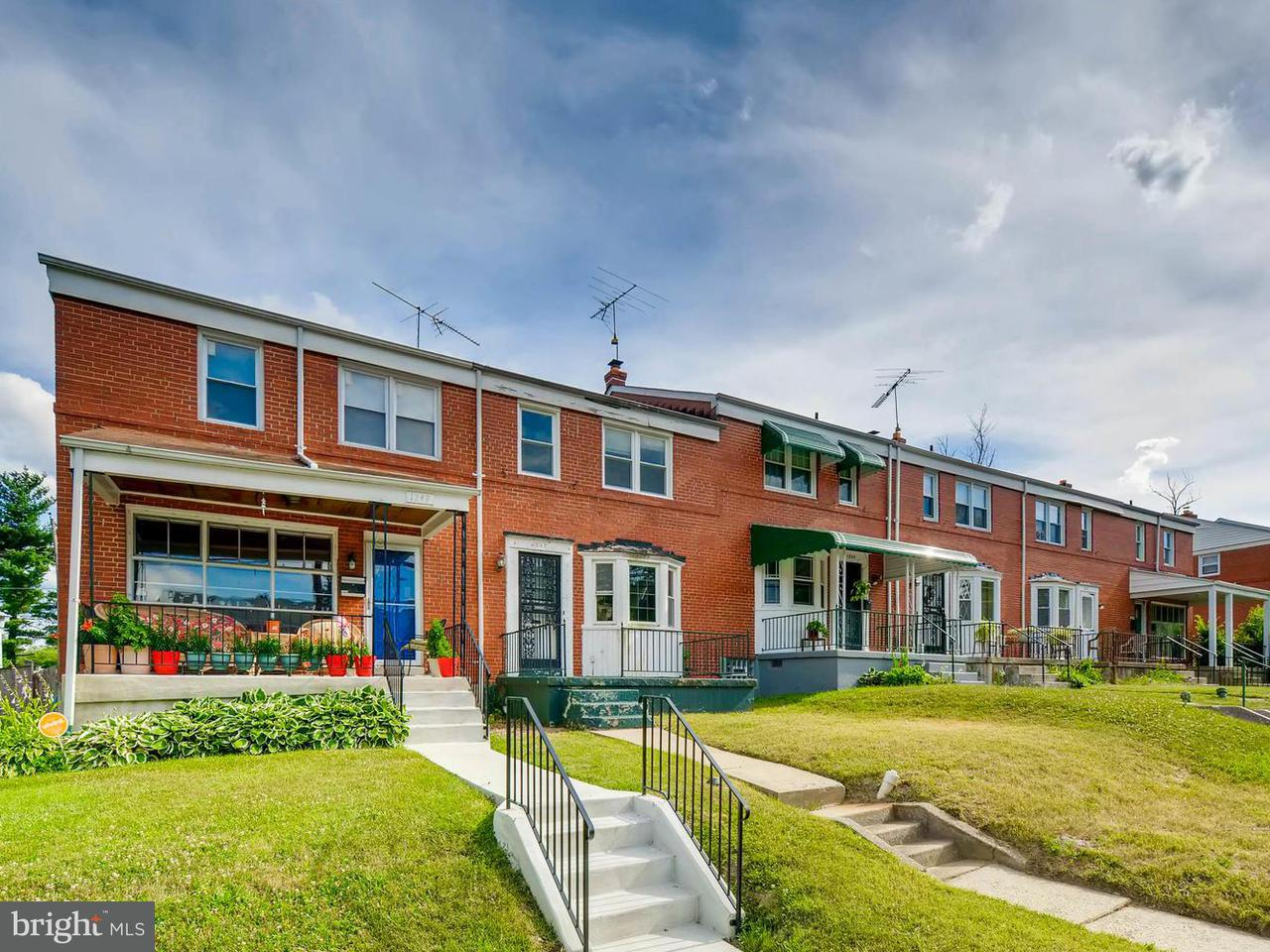 Single Family for Sale at 1247 Woodbourne Ave Baltimore, Maryland 21239 United States