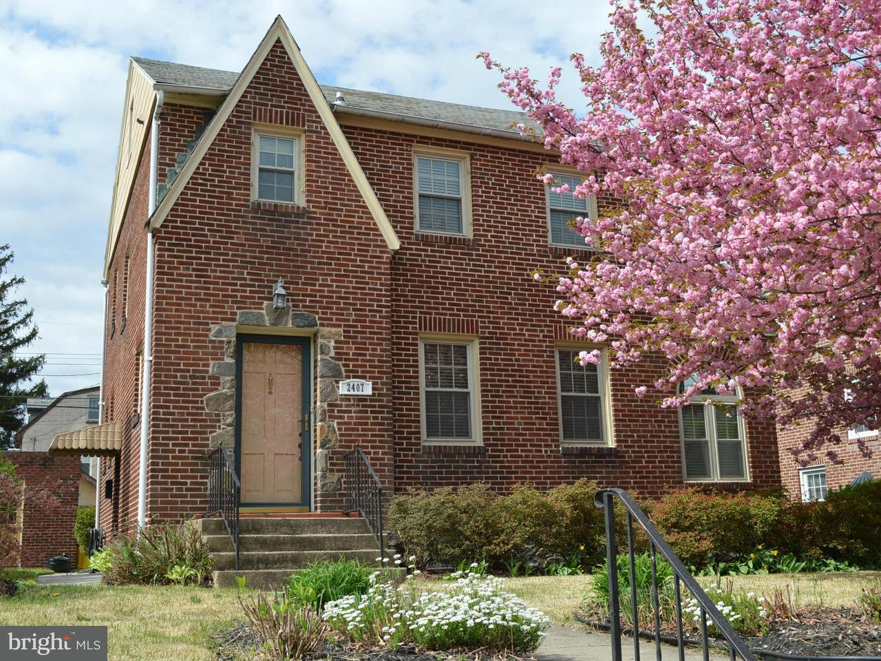 Single Family for Sale at 2407 Pelham Ave Baltimore, Maryland 21213 United States