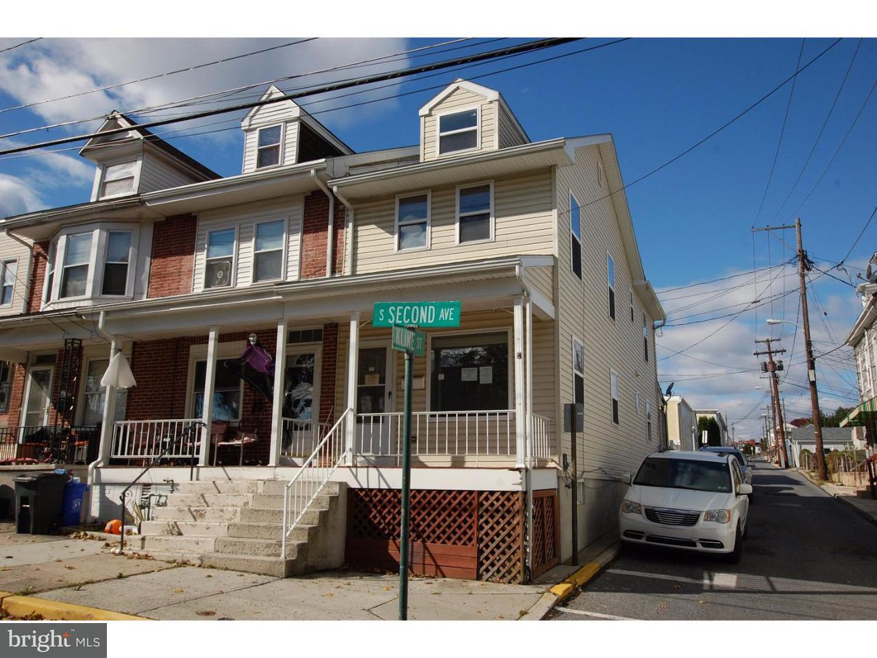 Maison accolée pour l Vente à 212 S 2ND Avenue West Reading, Pennsylvanie 19611 États-Unis