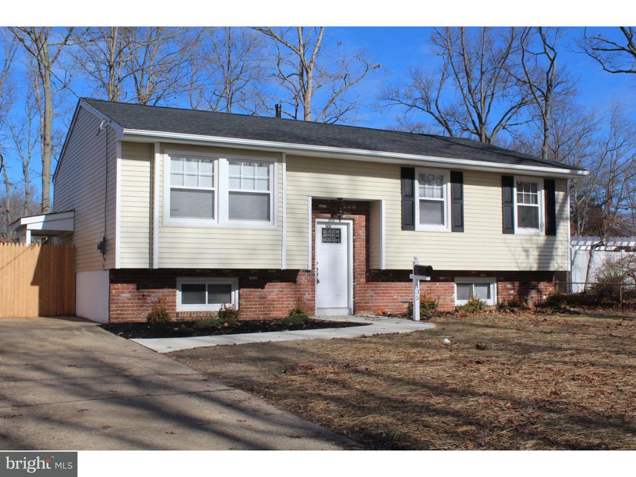 独户住宅 为 销售 在 135 SILVER BIRCH Road Williamstown, 新泽西州 08094 美国在/周边: Monroe Township