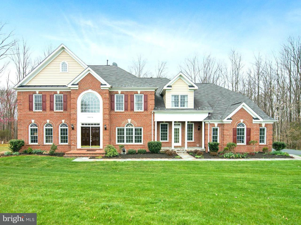 Частный односемейный дом для того Продажа на 3870 Avonlea Way 3870 Avonlea Way Catharpin, Виргиния 20143 Соединенные Штаты