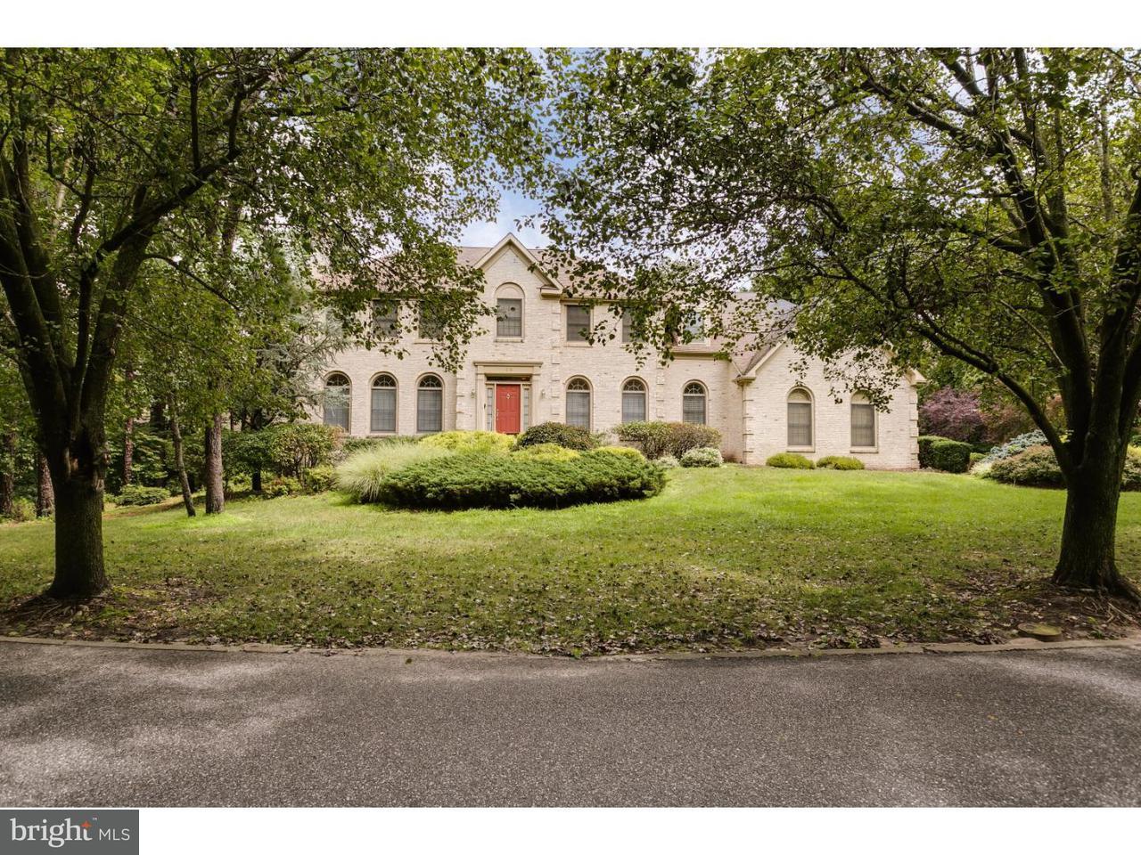 Enfamiljshus för Försäljning vid 14 ASHTON Drive Voorhees, New Jersey 08043 Usa