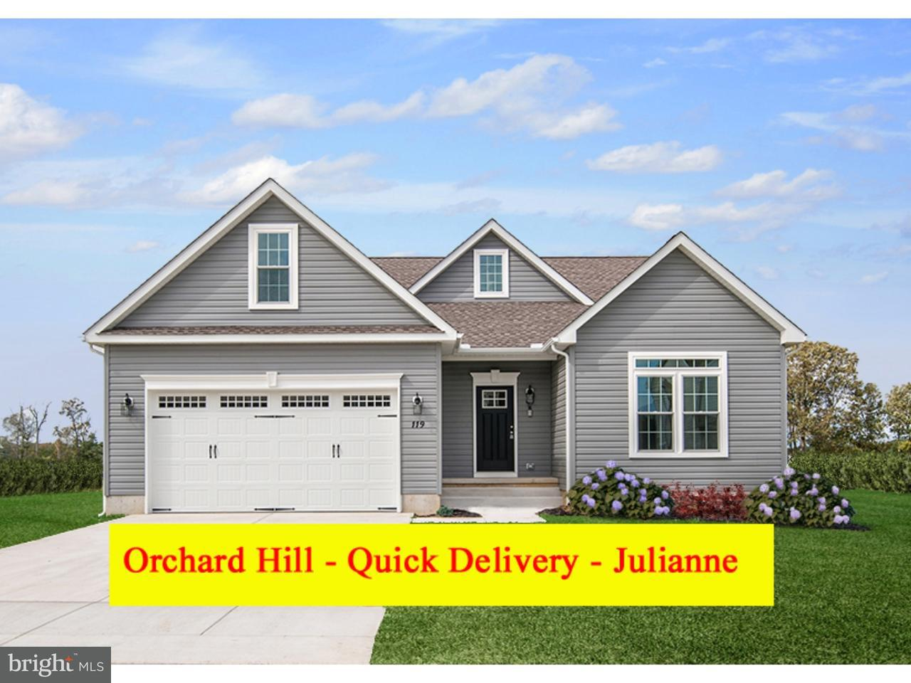 Single Family Home for Sale at 102 JUNE LN #LOT181 Milford, Delaware 19963 United States