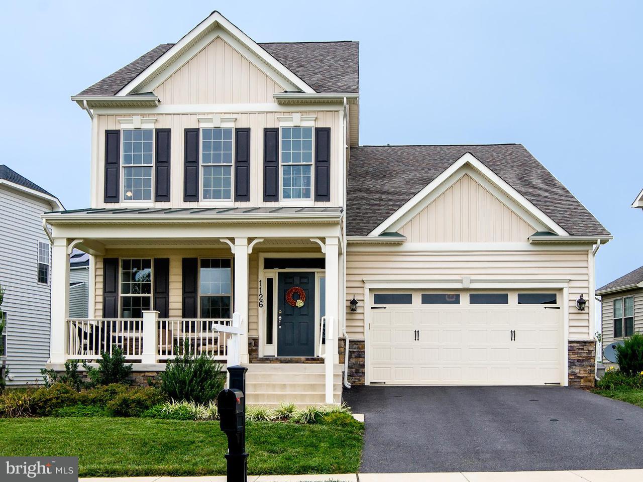 Частный односемейный дом для того Продажа на 1126 DARGON QUARRY Lane 1126 DARGON QUARRY Lane Brunswick, Мэриленд 21716 Соединенные Штаты