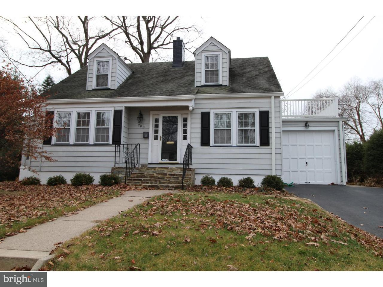 Maison unifamiliale pour l à louer à 703 WINCHESTER Avenue Lawrence, New Jersey 08648 États-UnisDans/Autour: Lawrence Township