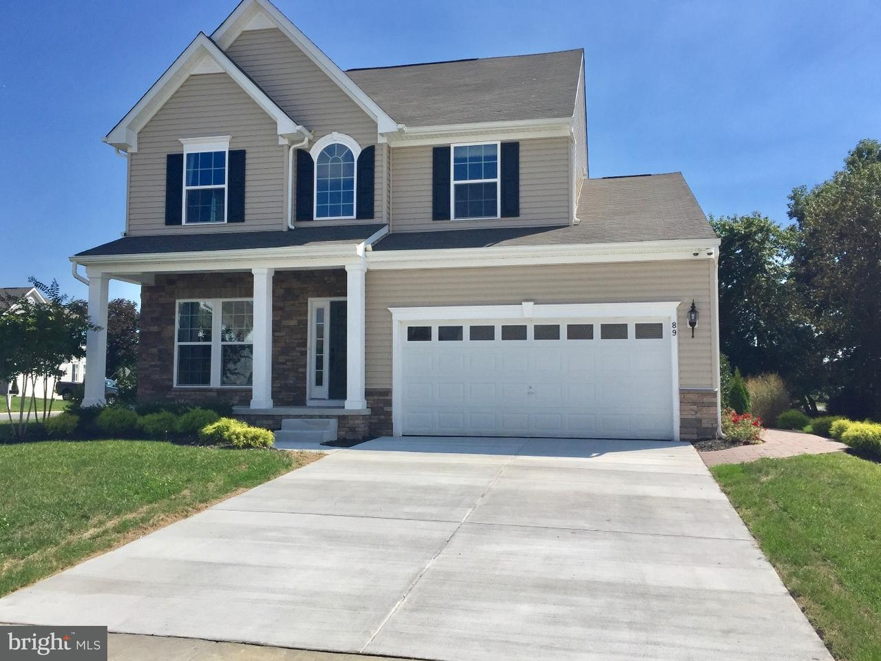 Single Family Home for Rent at 89 BOGGS RUN Dover, Delaware 19904 United States