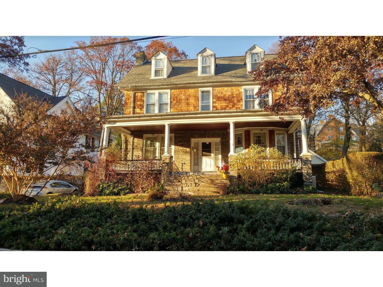 Частный односемейный дом для того Продажа на 235 MATHER Road Jenkintown, Пенсильвания 19046 Соединенные Штаты