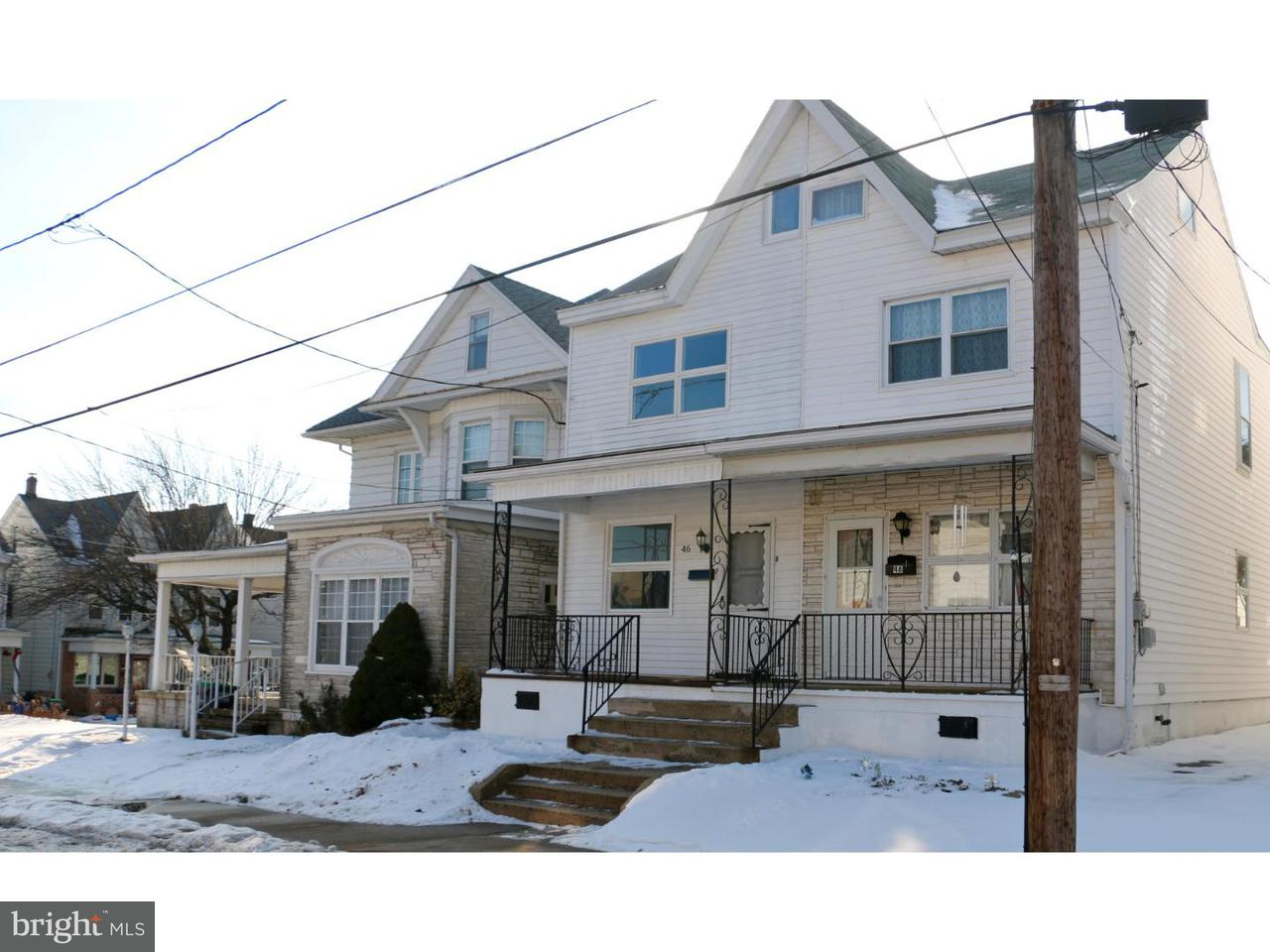 Townhouse for Sale at 46 N 2ND Street Frackville, Pennsylvania 17931 United States